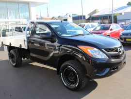 2014 Mazda BT-50 UP0YF1 XT Cab chassis - single cab