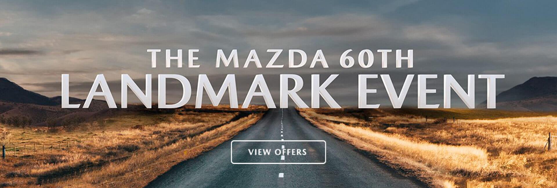 The Mazda 60th Landmark Event.