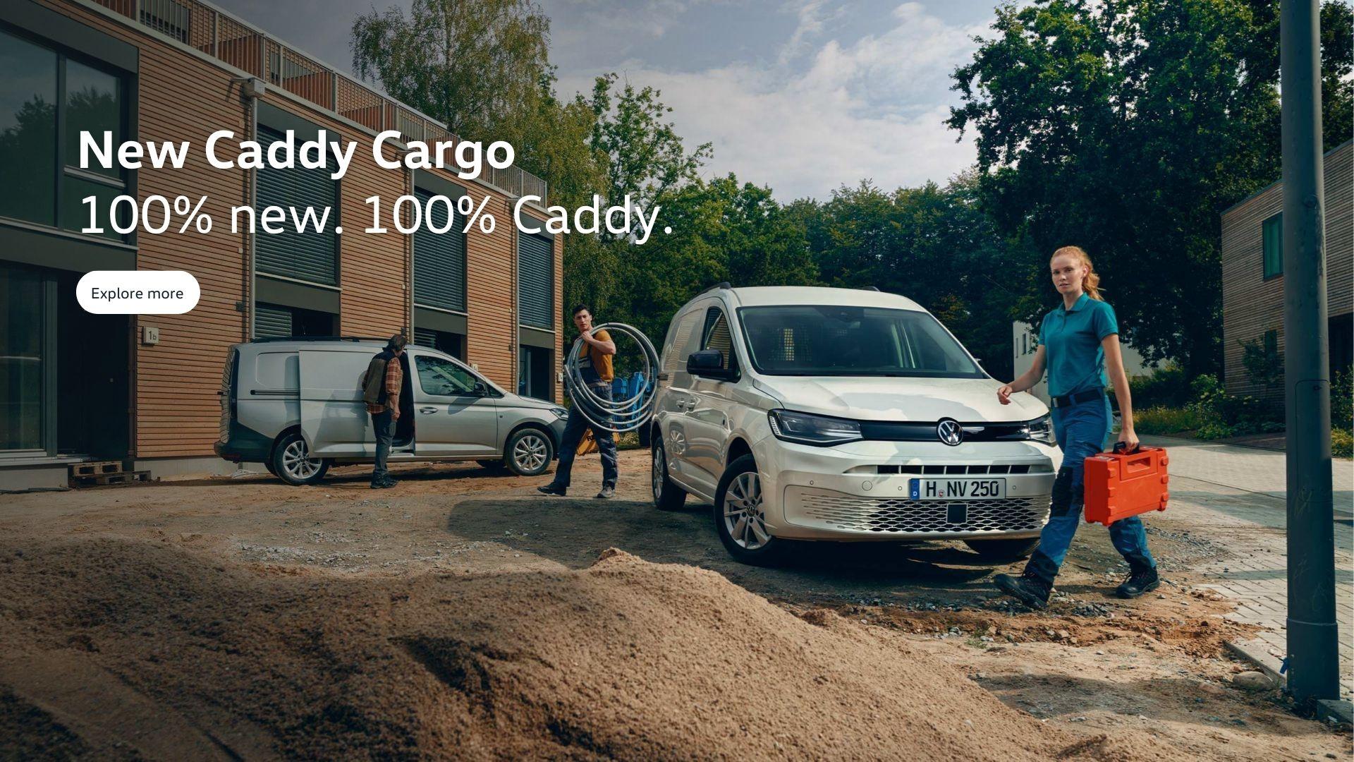 100% new. 100% Caddy.