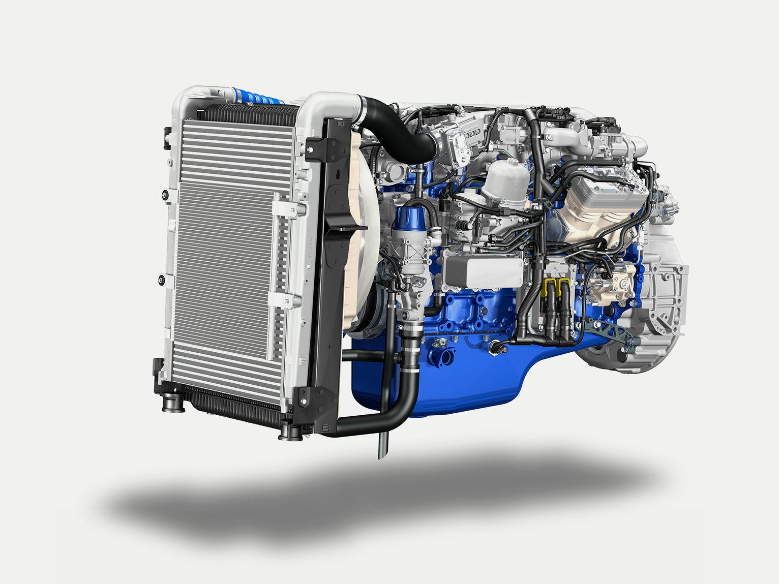 Volvo FE VOLVO D8K ENGINE