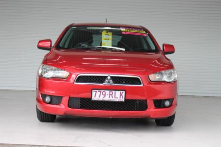 2010 MY11 Mitsubishi Lancer CJ MY11 VR Hatchback Image 3