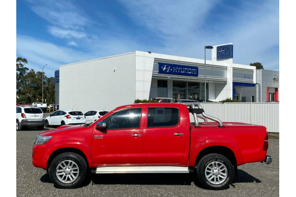 2013 MY12 Toyota Hilux GGN25R MY12 SR5 (4x4) Dual cab pick-up Image 4