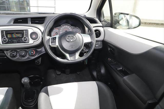 2014 Toyota Yaris NCP130R YR Hatchback Image 11