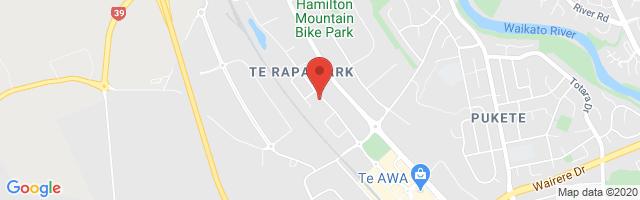 Winger MG Hamilton Map