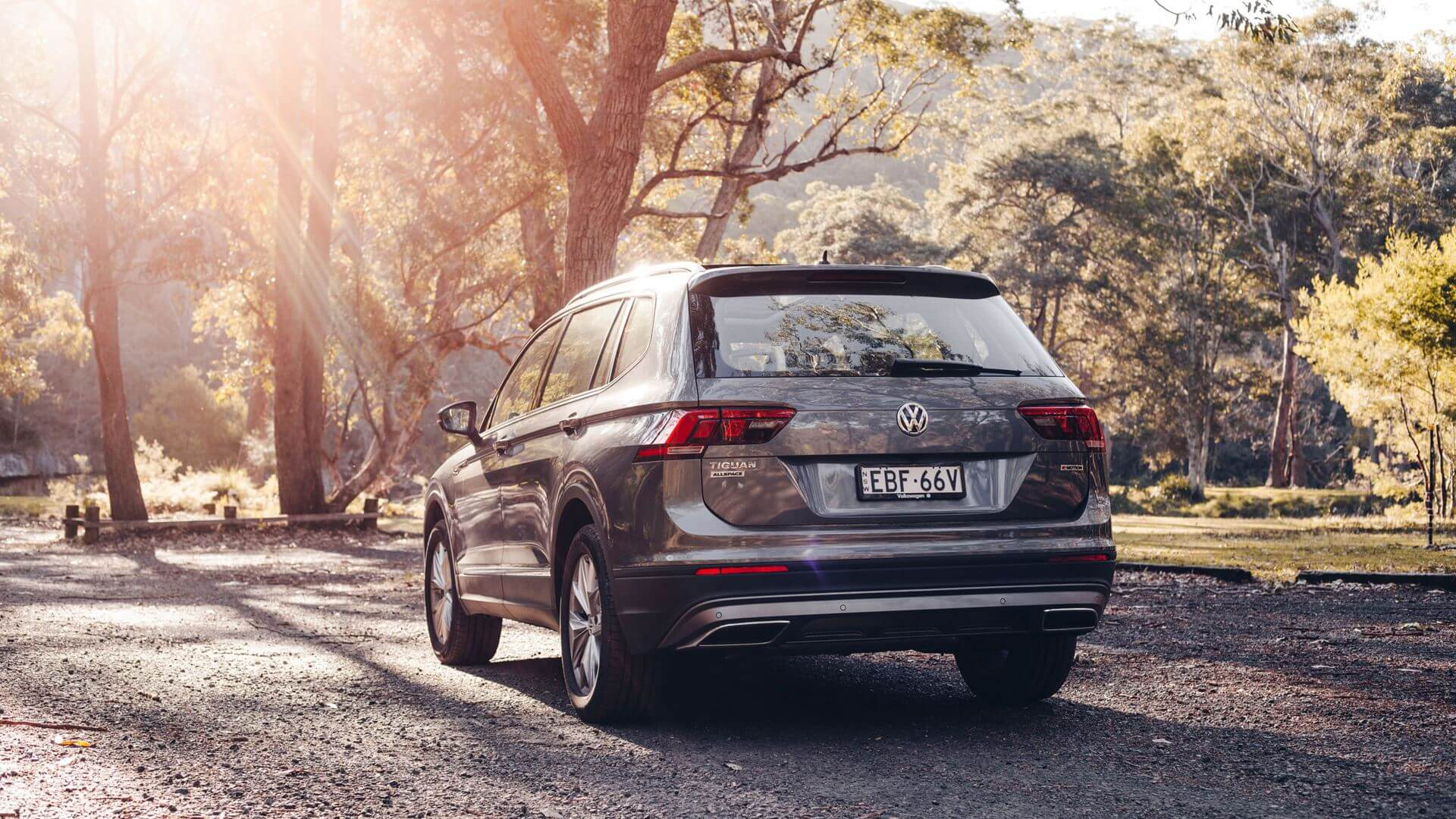 <strong>Tiguan Allspace</strong><br>The SUV that can do it all. Image