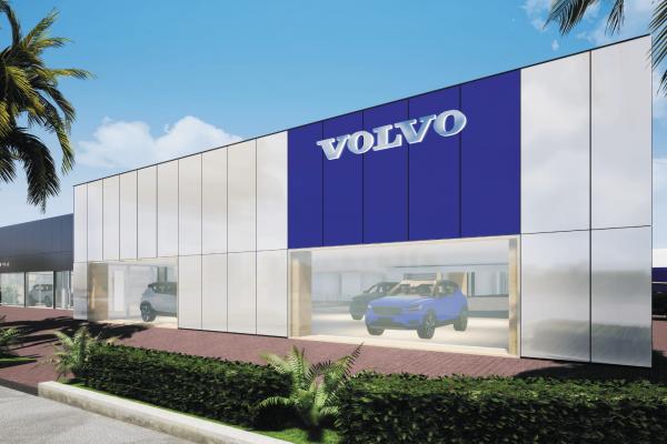 Volvo Cars Brisbane North Dealership Renovation