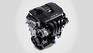 Elantra Petrol engines.