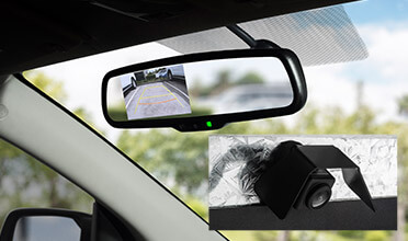 In-Mirror Reversing Camera