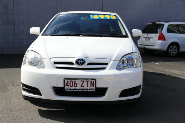 2005 Toyota Corolla ZZE122R 5Y Ascent Hatchback Image 2