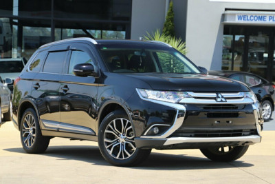 2017 Mitsubishi Outlander ZK MY17 LS 2WD Safety Pack Suv