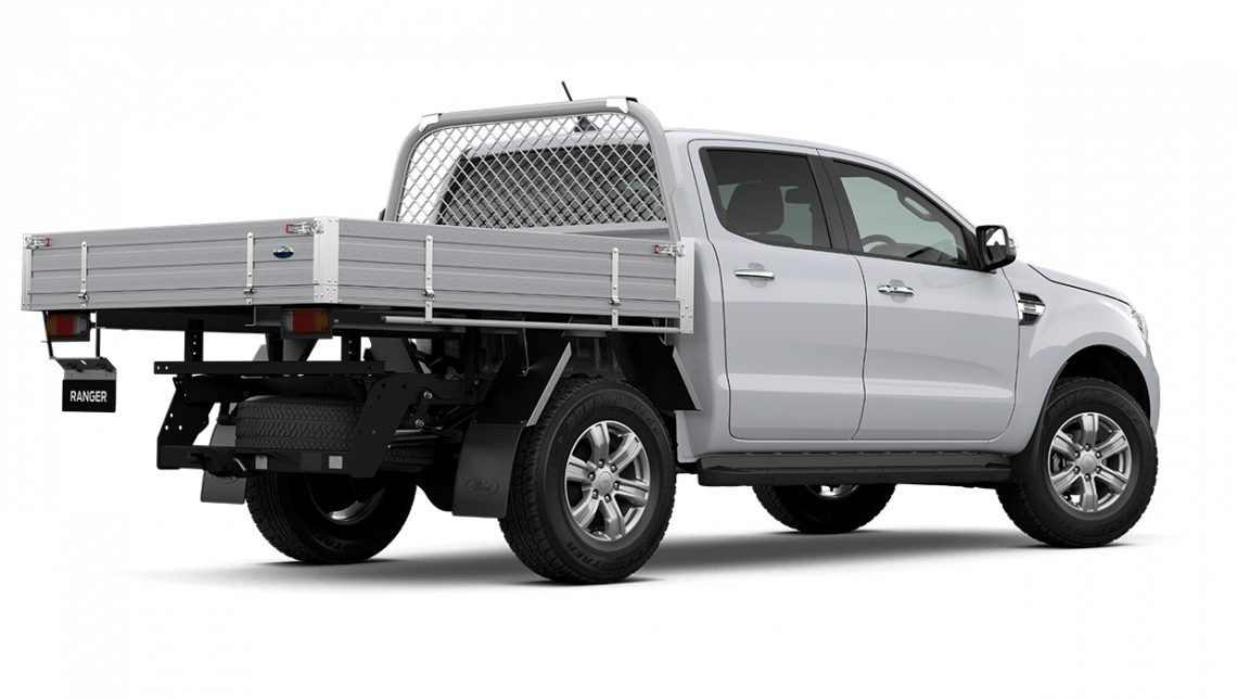 2020 MY21.25 Ford Ranger PX MkIII XLT Double Cab Chassis Cab chassis Image 10