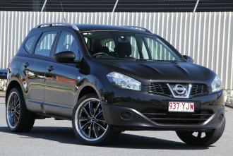 Nissan Dualis +2 Hatch X-tronic 2WD ST J107 Series 4 MY13
