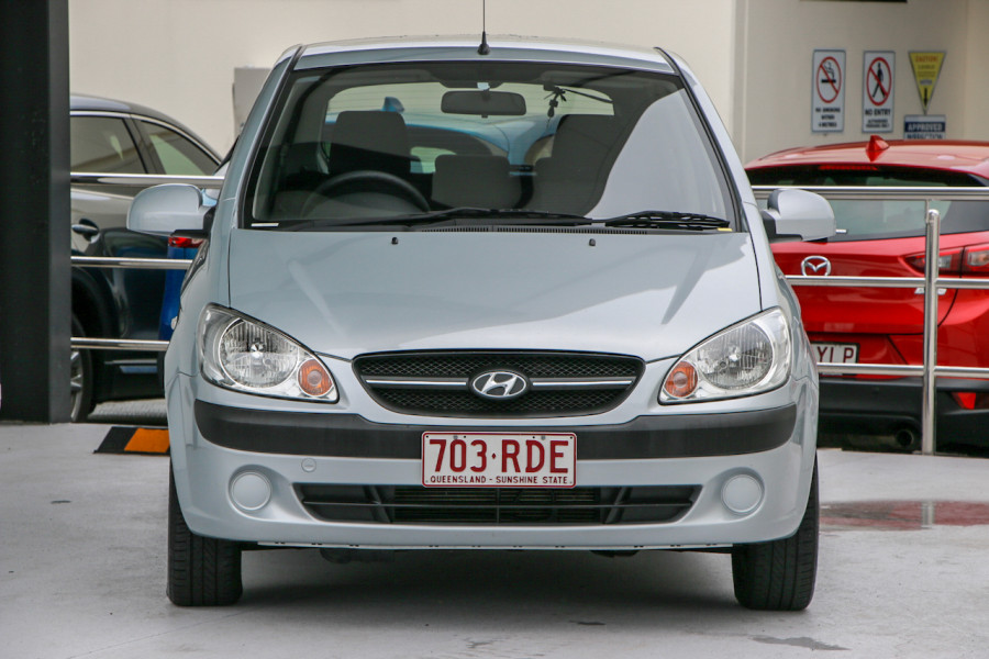 2009 Hyundai Getz TB MY09 SX Hatch