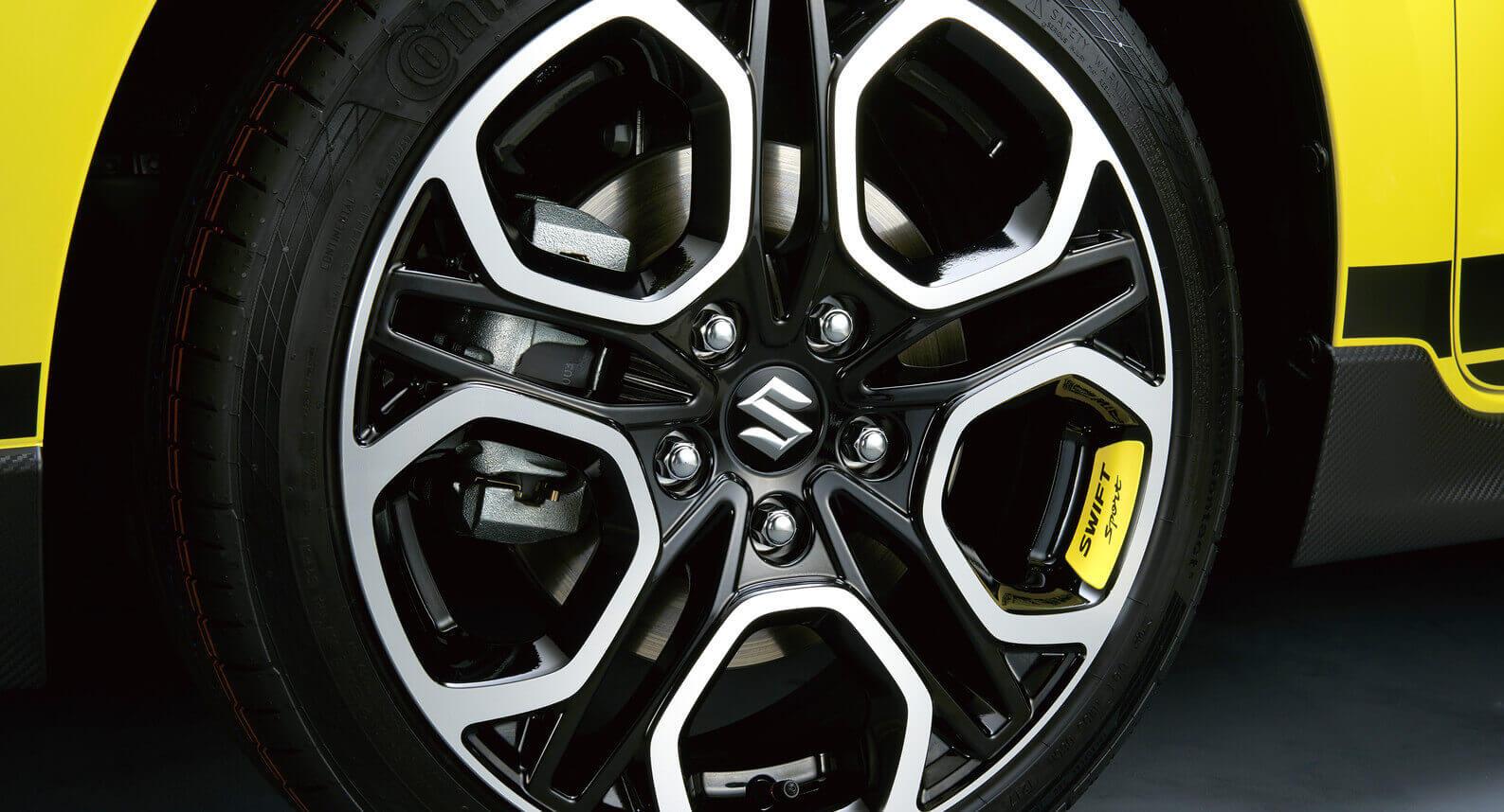 Wheel Decal - Yellow