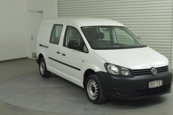 2013 Volkswagen Caddy 2KN MY13 TDI250 BlueMOTION Van Image 3