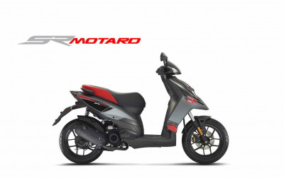 New Aprilia SR Motard 50