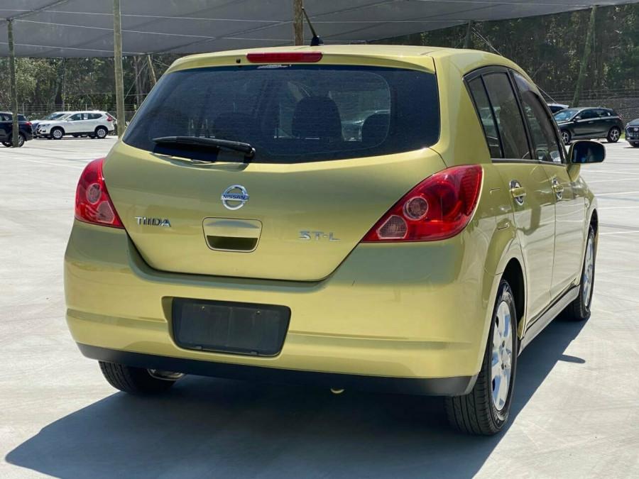 2008 MY07 Nissan Tiida C11 MY07 ST-L Hatchback Image 3