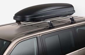 Roof Bars with Roof Box