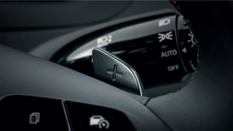 Tucson Paddle shifters.