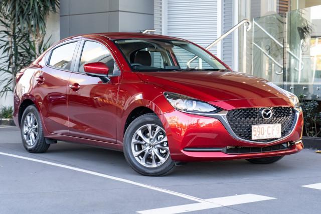 2021 Mazda 2 DL Series G15 Pure Sedan Sedan