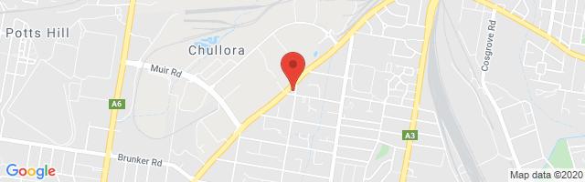 Bankstown MG Map