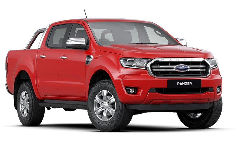 2019 MY20.25 Ford Ranger PX MkIII 4x2 XLT Double Cab Pick-up Hi-Rider Utility