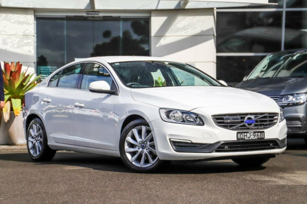 2016 MY17 Volvo S60 F Series MY17 T4 Adap Geartronic Kinetic Sedan
