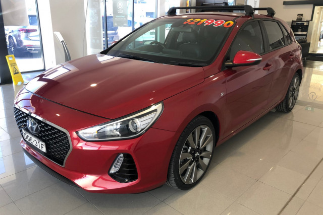 2017 Hyundai i30 SR