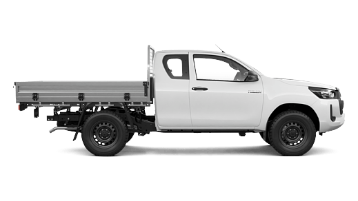 WorkMate 4x4 Extra-Cab Cab-Chassis