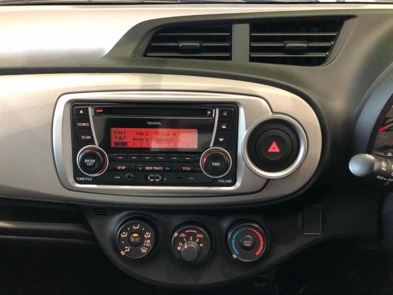 2013 Toyota Yaris NCP130R YR Hatchback Image 8