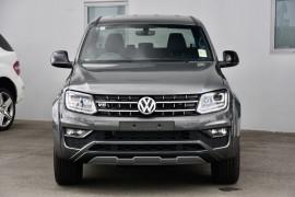 2019 MY20 Volkswagen Amarok 2H TDI580 Highline Black Utility Image 2