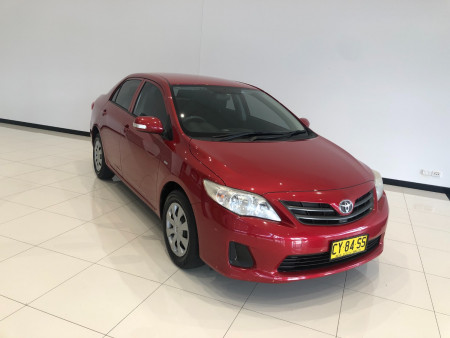 2011 Toyota Corolla ZRE152R Ascent Sedan