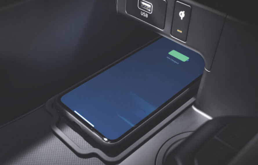 Wireless charging pad<sup>[P2]</sup>. Image