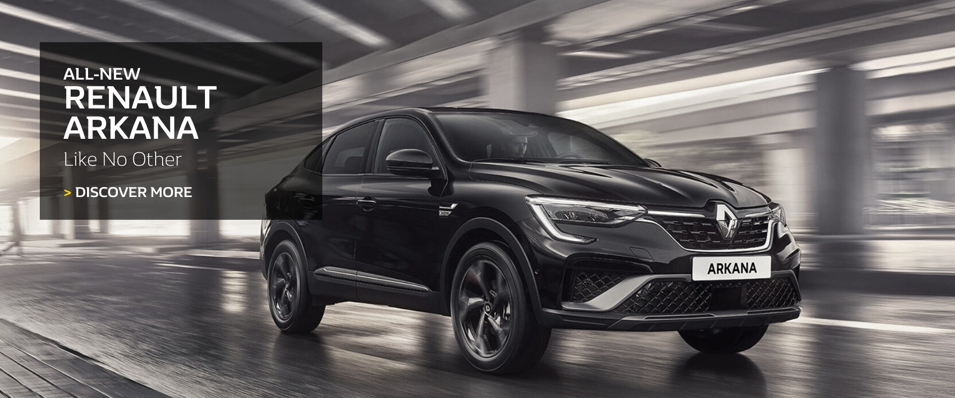 All-new Renault Arkana. Like no other.