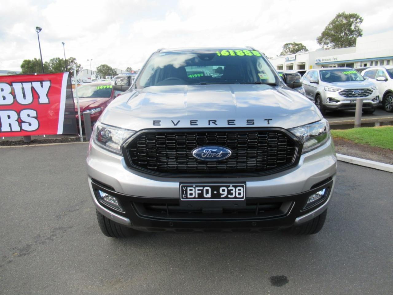 Used 2019 Ford Everest Sport Wodonga Wxjc Blacklocks Ford