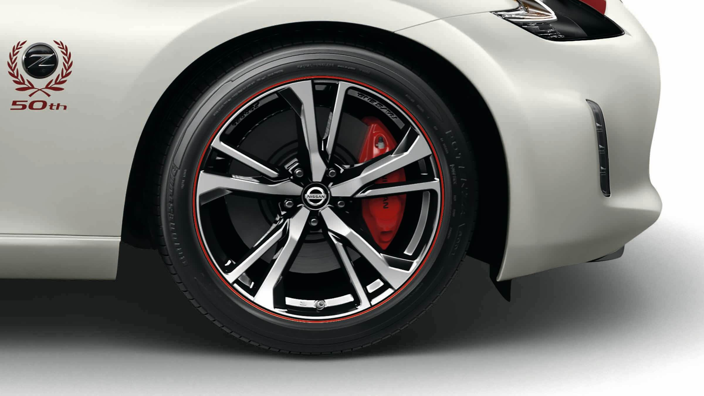 370Z 50th Anniversary Edition Alloy Wheels Image