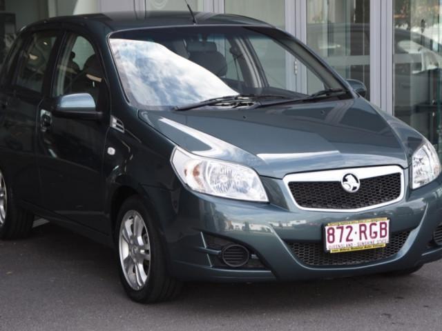 2010 Holden Barina TK MY10 Hatchback