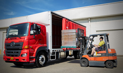 New Hino 500 Series Wide Cab