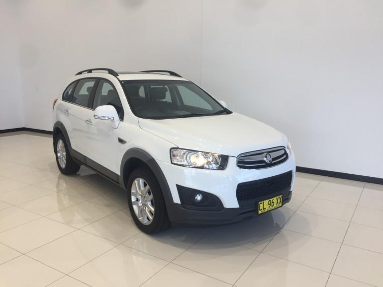 2015 Holden Captiva CG 7 Active 7 seat wagon
