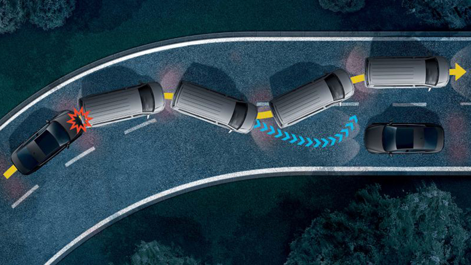 Multi-collision brake Image