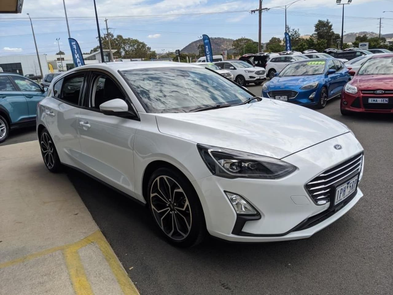 2019 MY19.25 Ford Focus SA 2019.25MY TITANIUM Hatch