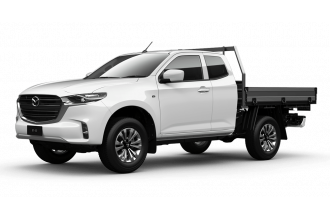 Mazda BT-50 XT 4x4 Freestyle Cab Chassis TF