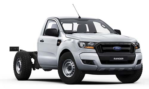 2018 Ford Ranger PX MkII 4x2 XL Single Cab Chassis 2.2L Single cab chassis