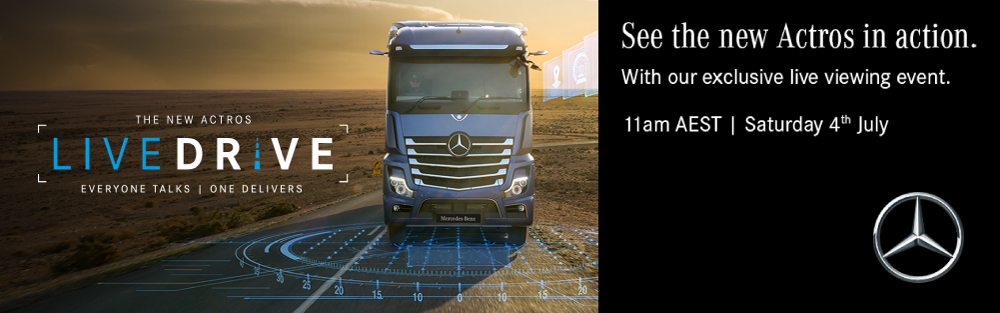 LIVE DRIVE - THE NEW ACTROS VIRTUAL LAUNCH