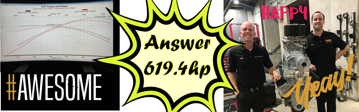 HOT ROD MOTOR DYNO RUN - THE WINNER OF THE GUESS THE HORSEPOWER COMP IS...