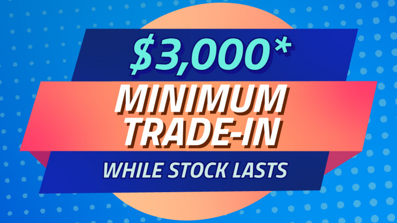 Receive $3,000 MINIMUM on your trade at Westpoint Autos*!