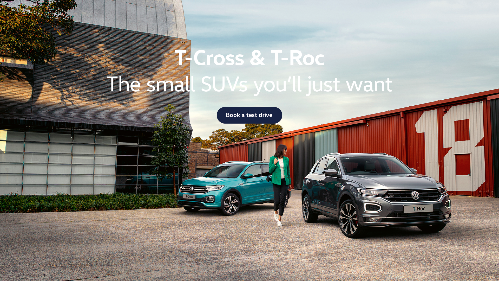 Volkswagen Small SUV range. Test drive today at Westpoint Volkswagen.