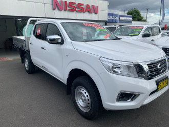 2018 Nissan Navara D23 Series 3 RX 4X4 Dual Cab Chassis Cab chassis