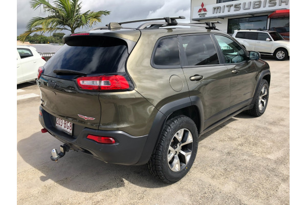 2014 MY15 Jeep Cherokee KL Trailhawk Suv Image 4