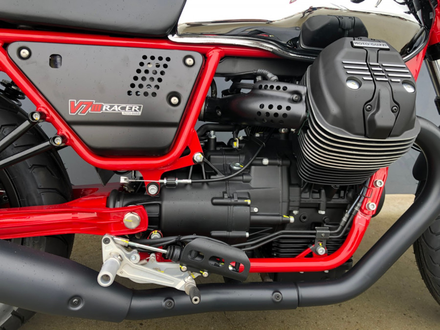 2020 Moto Guzzi V7 Racer III 10th Ann Motorcycle Image 27